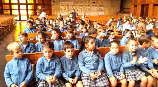 El colegio La Milagrosa de Calahorra celebró San Vicente de Paul, fundador del colegio