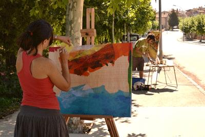 Este domingo IX Certamen de pintura al aire libre