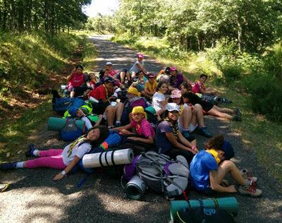 Ronda Solar 2016-17, comienzo del nuevo curso del Grupo Scout Ntra. Sra. De Guadalupe Nº50