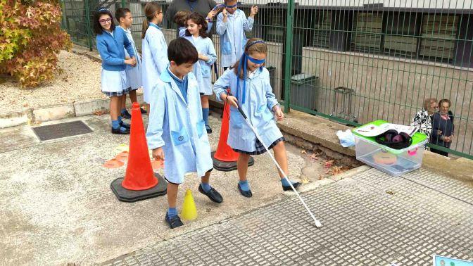 Los alumnos del colegio La Milagrosa participan en Integra en la escuela