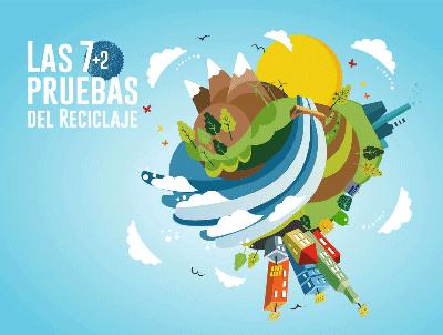 'Las 7+2 pruebas del reciclaje' recorrerá desde hoy 50 colegios para concienciar a los escolares riojanos sobre la recogida selectiva de envases