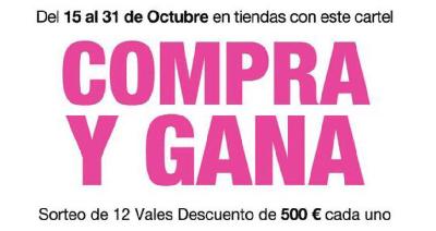 """La campaña de dinamización comercial """"Compra y gana"""" sorteará vales por un importe total de 6.000 euros"""