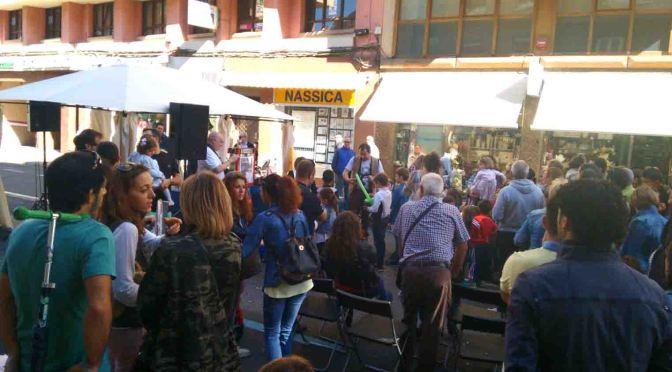 El sábado el comercio calagurritano celebró su día con una gran fiesta en la calle
