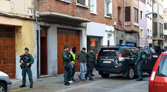 Detenido un marroquí en Calahorra por su relación con el Estado Islámico y delitos terroristas