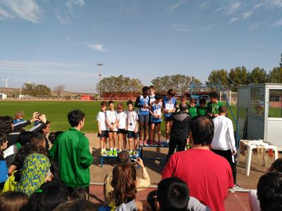 Los atletas de La Milagrosa compiten en las Olimpiadas Escolares