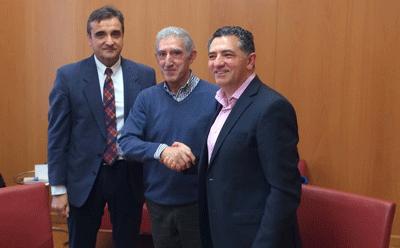 El Gobierno de La Rioja renueva la cesión a Cáritas de tres viviendas en Calahorra para alojar a familias con dificultades económicas