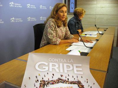 La campaña de vacunación de la gripe se iniciará el próximo lunes en La Rioja con el objetivo seguir mejorando la tasa de cobertura en los grupos de riesgo