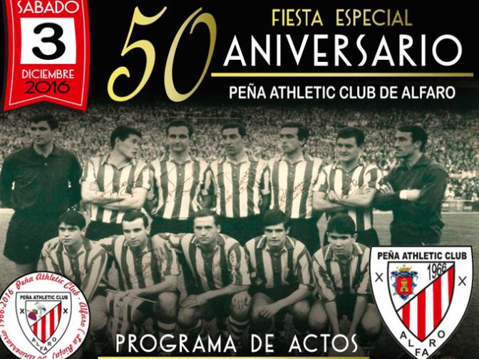 Fiesta del 50 aniversario de la Peña Athletic Club de Alfaro