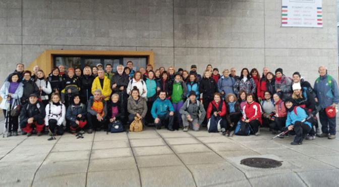 Más de 60 personas completaron la 1ª Etapa del Camino de Santiago del Norte