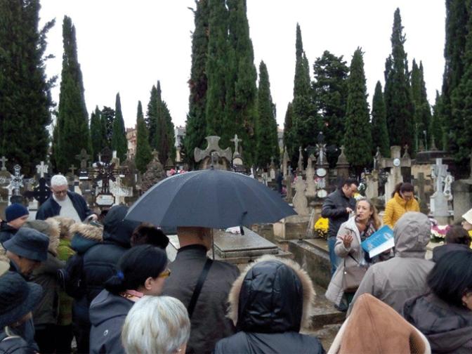 Visita guiada al cementerio de La Planilla para este sábado