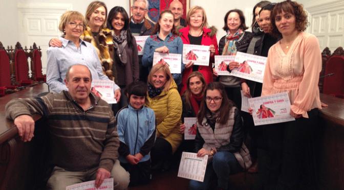 """Entregados los doce vales de 500 euros de la campaña """"Compra y gana"""""""