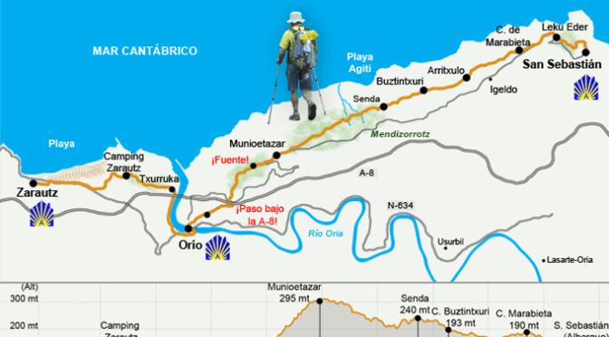 Este domingo nueva etapa del Camino de Santiago del Norte de la Asociación Caminantes Ribera del Ebro