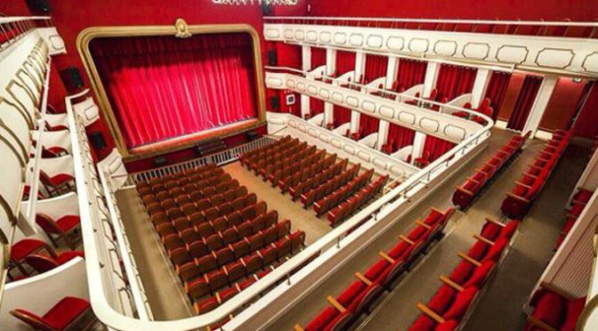 Programación del teatro para diciembre 2016