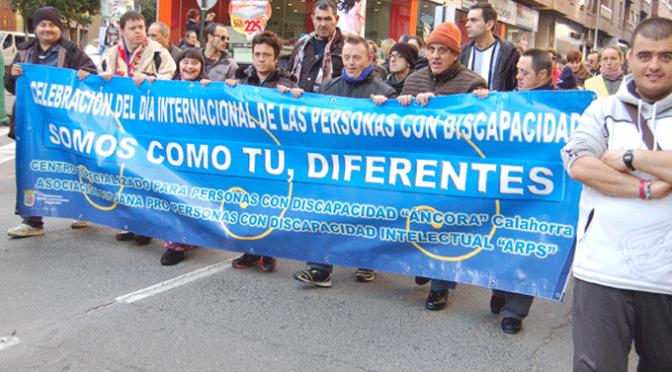 El Centro ÁNCORA de Calahorra celebra esta semana con varios actos el 'Día Internacional de las personas con discapacidad'