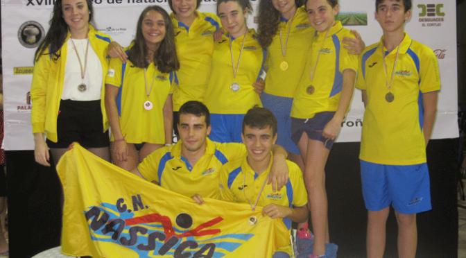 El CN Nassica en el XVIII Trofeo Ciudad de Logroño