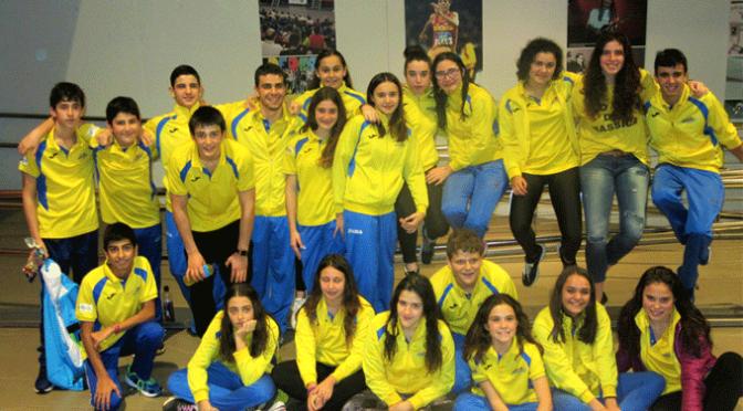El CN Nassica en el Trofeo Federación de natación