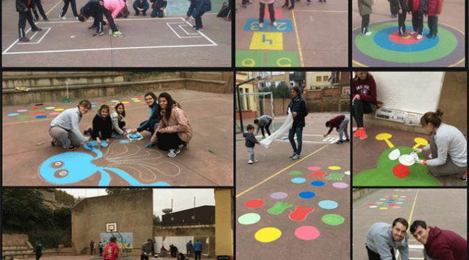 Los patios de Agustinos se llenan de color y diversión con juegos tradicionales