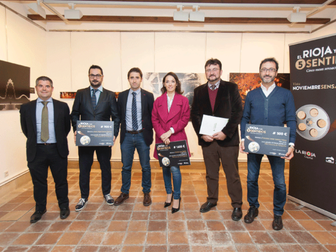 Cristina Loza Sádaba gana el primer premio del XVIII Concurso de Fotografía de 'El Rioja y los 5 Sentidos'