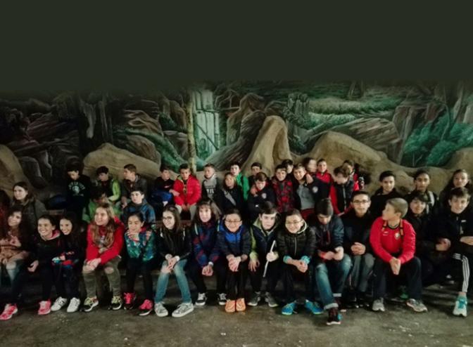 """Los alumnos del I.E.S. """"M.F. Quintiliano visitan Tierra Rapaz"""