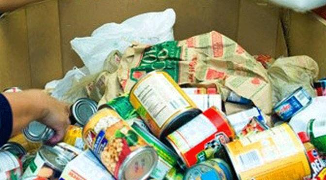 Aclaracion del Banco de Alimentos y Cruz Roja
