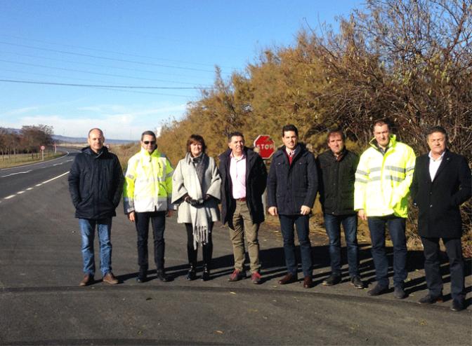 Seguridad vial entre Autol y Aldeanueva de Ebro