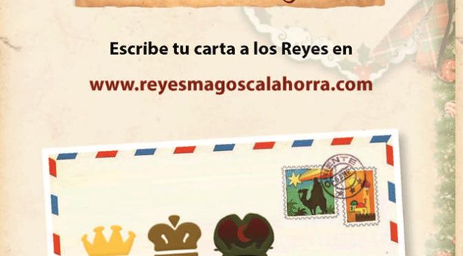 Ya puedes escribir tu carta on line a los Reyes Magos