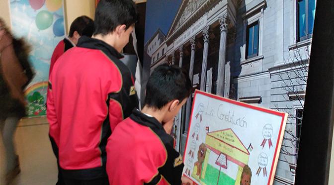 Agustinos celebra el Día de la Constitución