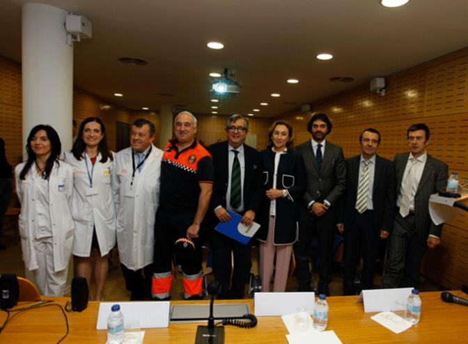 Acto de reconocimiento de FHC a los Voluntarios de Protección Civil