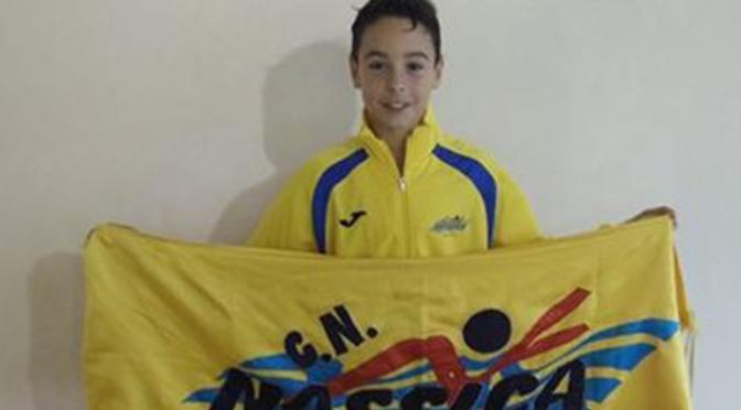 Iván Martínez Mejor Marca de La Rioja de 11 años