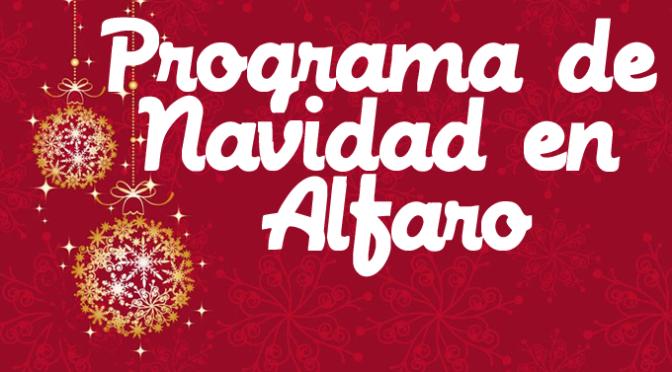 Programación de Navidad en Alfaro