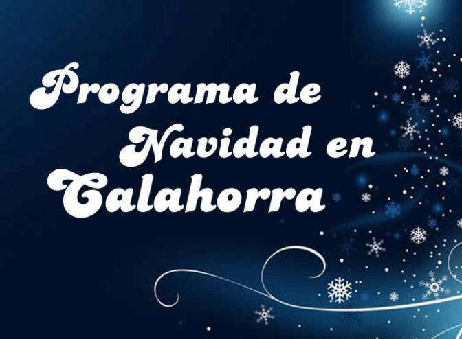 Programación navideña en Calahorra