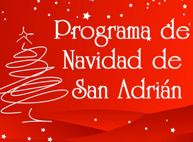 Actos para esta Navidad en San Adrián