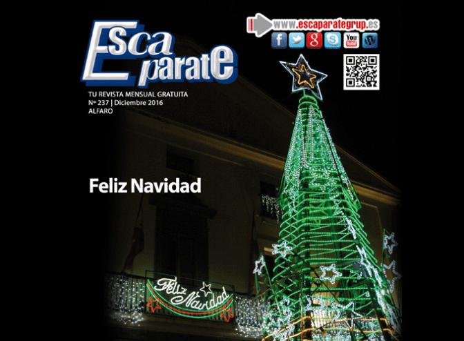 Escaparate Alfaro Diciembre, Feliz Navidad