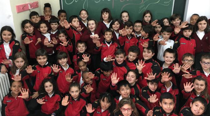 Celebración del Día del Paz en Agustinos