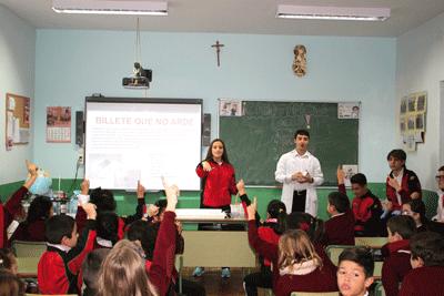 Los alumnos de Agustinos celebran el Mes de la Ciencia