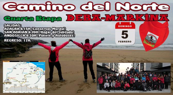 Cuarta etapa del Camino del Norte Deba-Markina