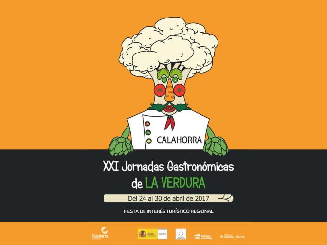 Un chef de verduras, protagonista del cartel de las XXI Jornadas Gastronómicas de la Verdura