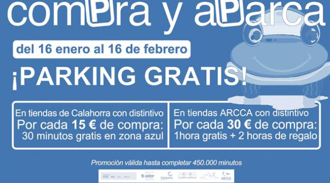 """Comienza la campaña """"Compra y aparca"""" gratis en Calahorra"""