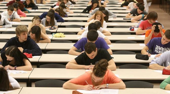 Celebración La prueba de Evaluación de Bachillerato para el Acceso a la Universidad (EBAU)