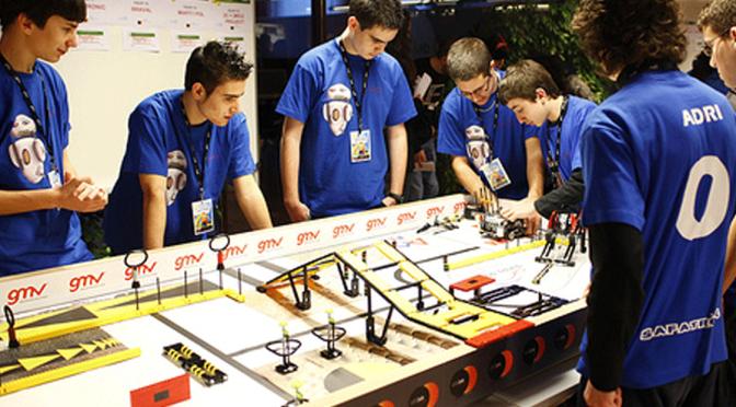 Segundo torneo clasificatorio de robótica First Lego League en La Rioja