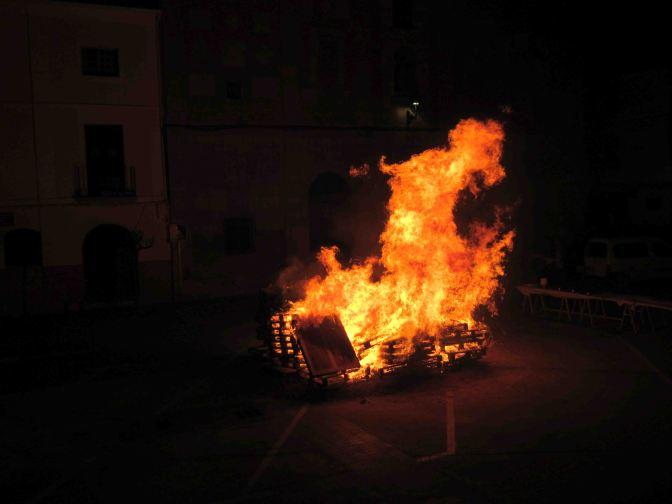 Celebración de San Antón en Calahorra