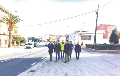 Mejorada la seguridad vial en el acceso a Rincón de Soto