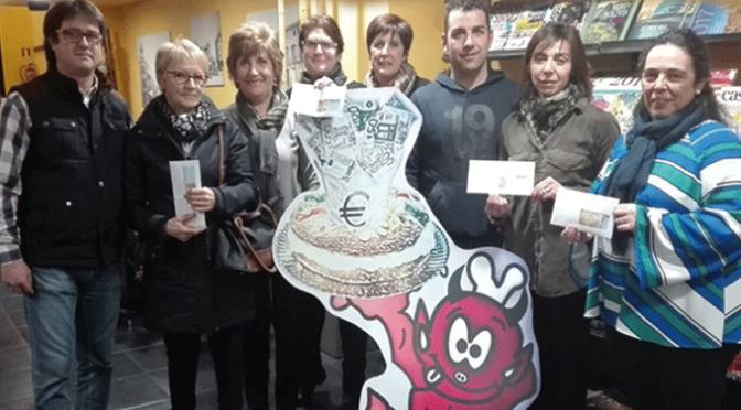 Ya se conocen los ganadores de los 2.300€ del Roscón de la Ilusión