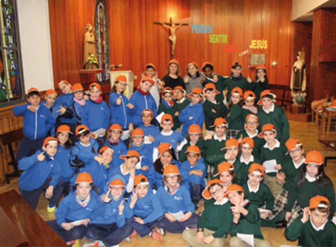 Celebración de San Enrique en Teresianas
