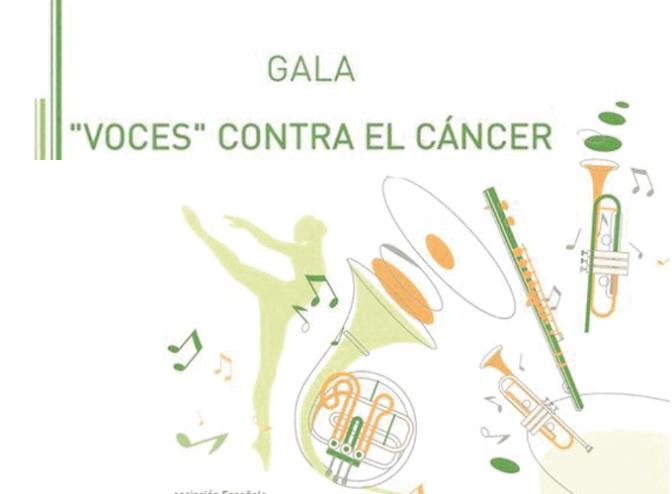 """Gala """"Voces"""" contra el cáncer y cine este fin de semana en San Adrián"""