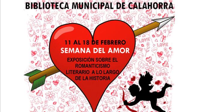 """Semana del Amor en la Biblioteca municipal """"Pedro Gutiérrez"""""""