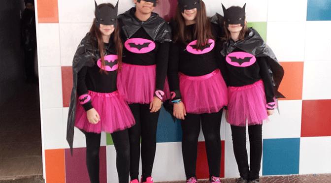 Los alumnos de La Milgrosa también celebraron el Carnaval
