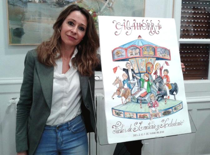 La obra de Ainhoa Virto será la imagen de las próximas fiestas de Marzo