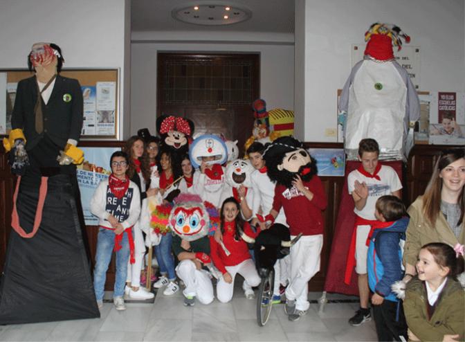 Las fiestas de Calahorra ya han llegado al colegio San Agustín