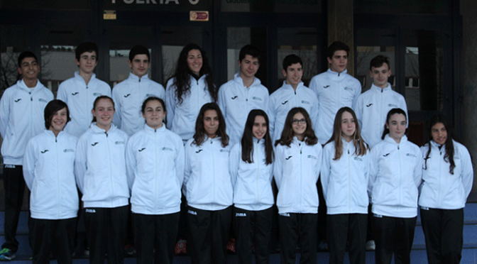 Nadadores del CN Nassica al Campeonato de España